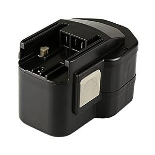 Mitsuru® 3000 mAh Ni-MH 12 V Battery for Atlas Copco PEP12TIP/2, AEG BEST12X, Atlas Copco AEG Milwaukee B12, BF12, BF12 System, BX12, BXL12, BXS12, MX12, P12P, P12T, PBS3000, S12P, SB2E12, SB2E12T.