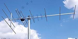 3H-VHF-9 - passive Außenantenne 9 Elemente 10 dB(i) für VHF Band III und DAB+ für horizontale und vertikale Montage