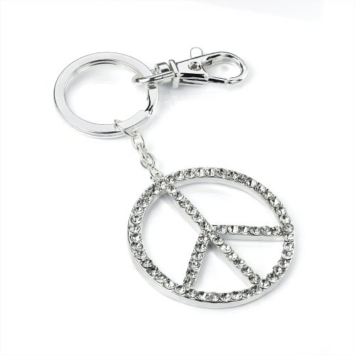 silver-tone-crystal-cnd-peace-sign-keyring-bag-charm-ak25899