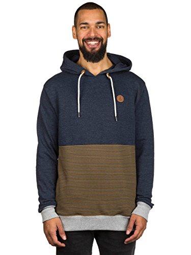 volcom-herren-hoodie-blau-m