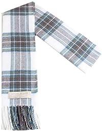 100% laine d agneau Macdonald Écharpe Tartan Stewart avec emballage  cadeau-Made in Scotland Par… e86ddb8d58e