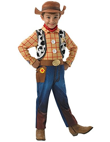 Woody Deluxe - Toy Story - Kinder-Kostüm - Medium - ()