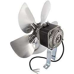 Europart Universal Frigorífico Motor de ventilador y Kit de soporte de montaje, 34W