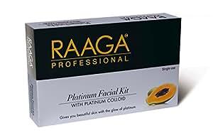 Raaga Professional Platinum Facial Kit-With Platim Colloid