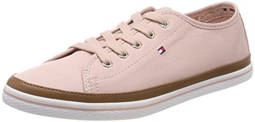 Tommy Hilfiger Damen Iconic Kesha Sneaker, Pink (Dusty Rose 502), 39 EU