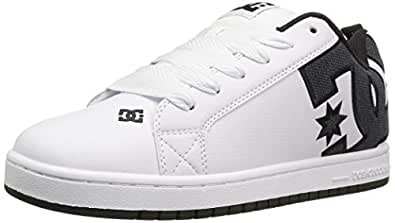 DC Men s Court Graffik SE Skate Shoe White Smooth 17 D(M) US