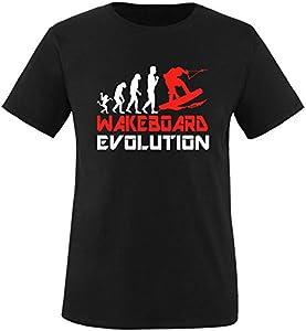 EZYshirt® Wakeboard Evolution Herren Rundhals T-Shirt