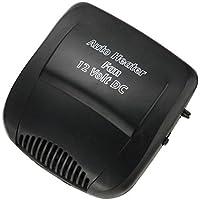 12V 200W Auto–Calefactor cerámico 2in1Portable Ventilador Ventilador Calefacción refrigeración Defroster Demister