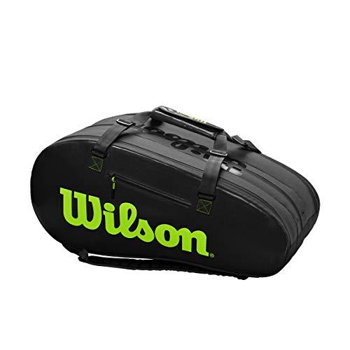 WILSON Thermo-Bag Super Tour 3 Comp Noir/Vert 2019