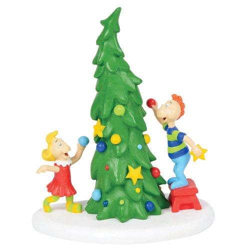 Department 56 Grinch Ville Weihnachtsbaum-Zubehör, Mehrfarbig -