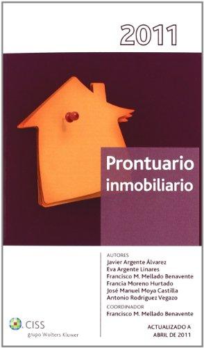 Prontuario inmobiliario 2011 (Prontuarios)