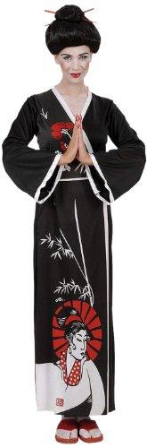 Kimono Halloween Kostüme (Widmann 58202 - Erwachsenenkostüm Geisha, Kimono, Gürtel und)