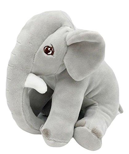 Good Night Petite poupée de jouet en peluche d'éléphant d'animal de bande dessinée, décoration de chambre à coucher