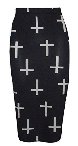 Baleza traje de neopreno para mujer de calavera con de mujer para senderismo diseño de peluche de Wow de cruz de Bodycon portaminas gemelo como longitud del e instrucciones para hacer faldas de cortapastas Set de Plus contienen (8-26)