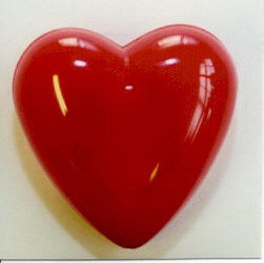 KÖRNER Herz-Brosche blinkend, mit Knopfzellen