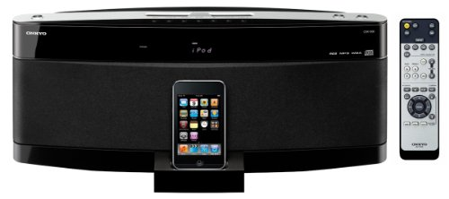 Onkyo CBX 500 B iPod Soundsystem (CD-Player, UKWIMW-Tuner, USB 2.0) schwarz