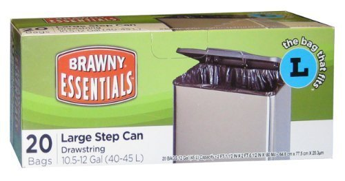 brawny-essentials-40-45l-drawstring-step-can-liner-by-nextep-inc
