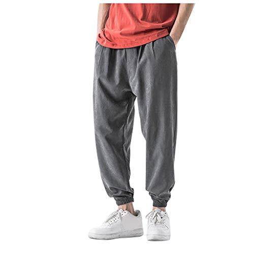 Cuteelf Herren Hose Jeans Stretch Jogginghosen Sporthosen Slim Freizeithosen