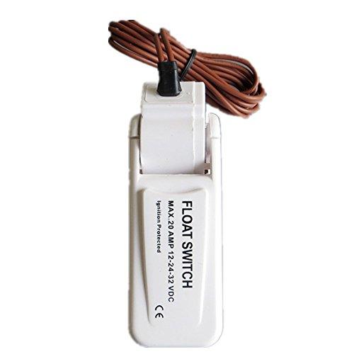Automatische elektrische Wasserpumpe schwimmende Kugelschalter DC Bilge Pumpenschalter (Schwimmerschalter Wasserpumpe)