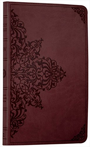 Holy Bible: English Standard Version (ESV) Anglicised Chestnut Ornamental Thinline edition (Bible Esv) por Collins Anglicised ESV Bibles