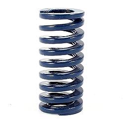 Druckfeder - Sodial(r) Druckfeder, Metall, Zylinderfoermig, 35 X 16 X 9 Mm Blau