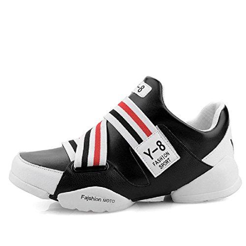 Uomo Scarpe sportive È aumentato impermeabile Antiscivolo Scarpe da pallacanestro Scarpe da ginnastica black red