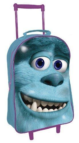 Monsters University Inc Disney Pixar Kinder Trolleytasche / Gepäck (Monsters Inc Rucksack)