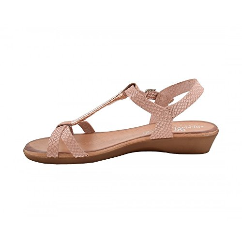 Benavente , Damen Sandalen Nude-Kupferfarben