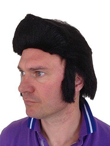 Elvis Perücke Rock 'n' Roll Teddy Boy Quiff für Kostüm Party (Rock N Roll Kostüme Boy)