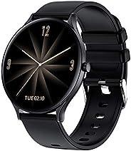 Douself QW13 Smart Watch,1.28 inch TFT Screen,IP67 Waterproof,Heart Rate,Sleep,Blood Pressure Monitor,Fitness