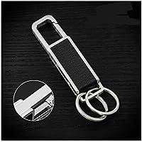 Artily Bierflaschenöffner Multifunktions-Flaschenöffner Schlüsselanhänger-Kette Halter Metall Schlüsselring Design Schlüsselanhänger Personalisiert 11 11.5 * 2.7 * 4.2cm Legierung