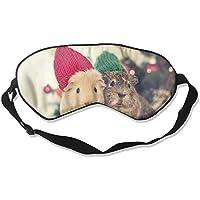 Eye Mask Eyeshade Guinea Pig Sleep Mask Blindfold Eyepatch Adjustable Head Strap preisvergleich bei billige-tabletten.eu
