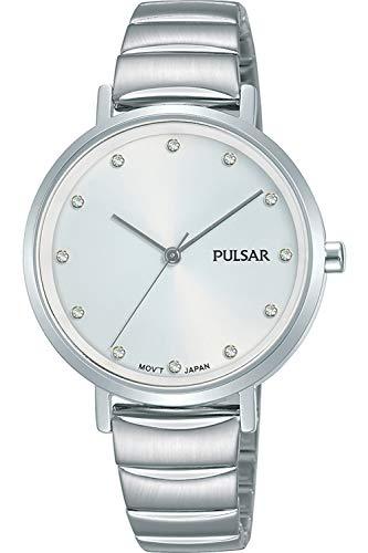 Pulsar ladies orologio Donna Analogico Al quarzo con cinturino in Acciaio INOX PH8403X1