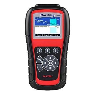 Autel MaxiDiag MD805 OBD2 Scanner System-Diagnosewerkzeug mit Motor / Getriebe / ABS / Airbag / EPB / Ölrückstellung, Verbesserte Version des MD802 Full System