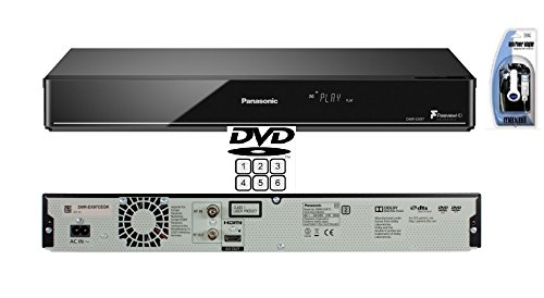 Panasonic DMR-EX97EB-K DVD Recorder (MULTIREGION PLAYBACK) with Freeview HDD and 500 GB HDD Inc. Maxell P-11