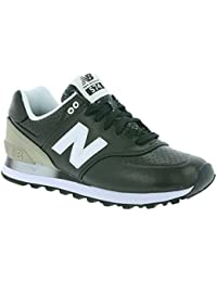 New Balance WL574RAA - WL574RAA - Color Gris-Blanco-Negro - Size: 36.0