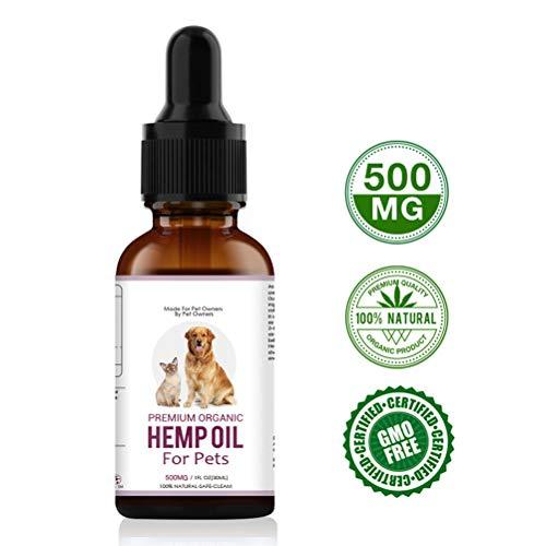 Gutyan 30ml Pet Hanfsamenöl für Hunde Natural Herbs Pet Care Oil Angst Schmerzlinderung -