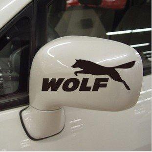 2 x WOLF Sticker 15.5 CM x 8.5CM (FARBWAHL) Ken Block AUFKLEBER Energy Ungeheuer Kralle Claw Auto Tuning Styling (8,5 Aufkleber)