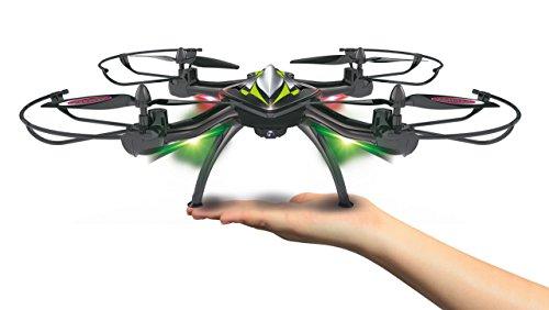 Jamara 422021 - F1X VR Altitude FPV Wifi Kompass Flyback - Race Drone, inklusiv VR-Brille, über Sender und App steuern, 3 Geschwindigkeiten, 40 KM/h, Höhenkontrolle (Barometer) und Rückflugautomatik - 8