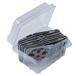 Power One Typ 312 P312 PR41 ZL3 Hörgerätebatterie Mercury Free Zinc Air im Big Box Pack von wns-emg-world, 60 Stück