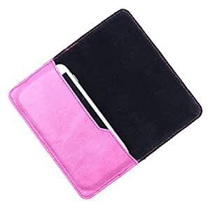 DooDa PU Leather Case Cover For Karbonn A90