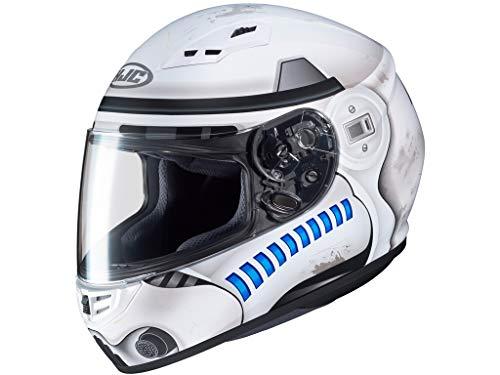 HJC Helmets Casco Moto Hjc Star Wars Cs-15 Storm Trooper Mc10 Bianco (L, Bianco)