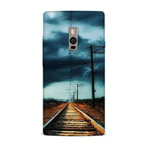 Top Notch Finest Quality Hard Fancy Designer Transparent Back Cover For OnePlus 2 / One Plus 2