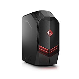 Omen by HP 880 Gaming PC (AMD Ryzen5-2600, 256GB SSD NVMe, Nvidia GeForce GTX, Windows 10) schwarz / rot