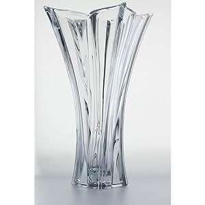 Cristal de boheme vase florale 36cm cristal 89a88 s for Amazon oggettistica
