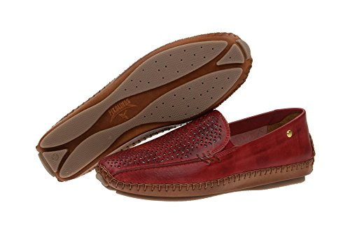Pikolinos 578-3593 Sandia, Mocasines Rojos Mujer