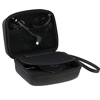 Navitech Auto Dash Cam/Kamera Tragetasche/Tasche für die ANNKOO AD01 (Case passt auch mit Windschutzscheibenhalterung + Kfz-Ladegerät)