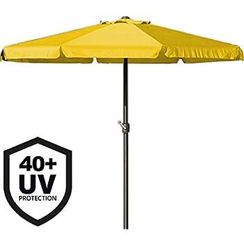 METALL Sonnenschirm Ampelschirm Kurbelschirm Gartenschirm 3,3M UV Schutz SALE!