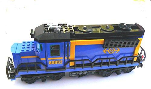 LEGO ®  CITY Eisenbahn Lok Diesellok Güterzuglok Schiebelok aus 60052 OHNE Powerfunction