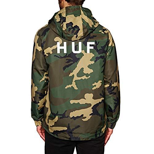 HUF Standard Shell Jacket X Large Woodland Camo